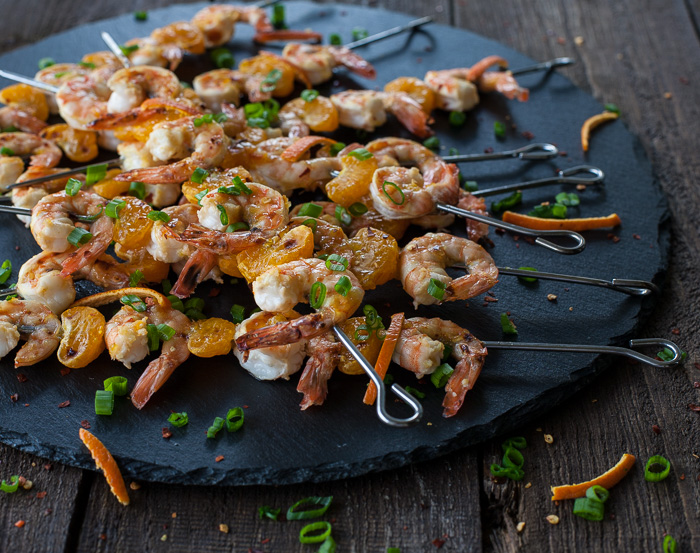 Havana Mojo Shrimp Skewers