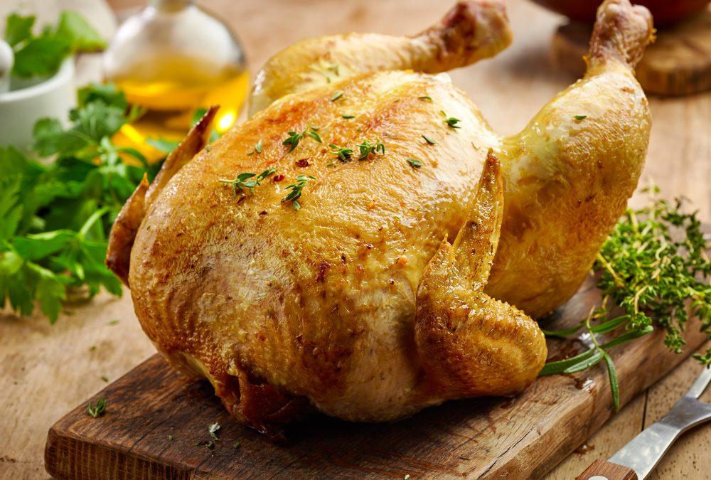 Garlic & Herb Whole Chicken